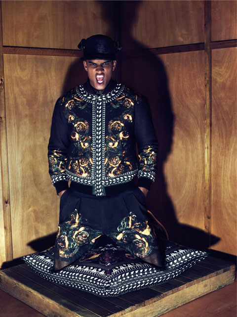 Rob Evans by Mert & Marcus for Givenchy F/W 2011-12