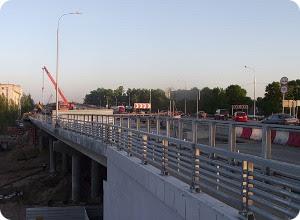 Реверсивное движение на Мигаловском мосту