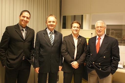 Rafael Sortica de Bittencourt, Paulo Weschenfelder, Fábio Vanin e Mário David Vanin