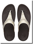 Fitflop Aztec Chada embellished toe post sandals