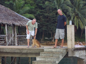 Photo: Per, Bantay, and Per, our hosts at Chindonan Island Resort, Palawan, Philippines.