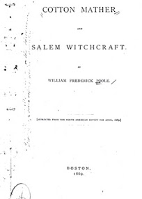 Cover of William Frederick Poole's Book Cotton Mather and Salem Witchcraft
