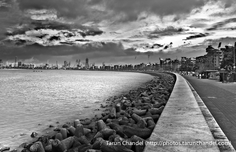 Marine Drive Mumbai, Tarun Chandel Photoblog