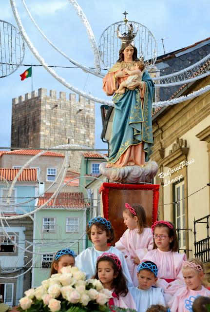 Procissão do Triunfo em honra de Nossa Senhora dos Remédios - Lamego 2014