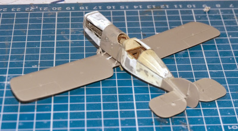 Bristol type 28 Tourer  ( 1/72 Roden )... fini!!! Montage2