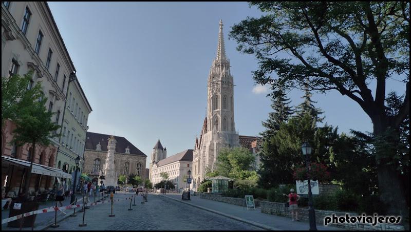 Barrio del castillo de Buda