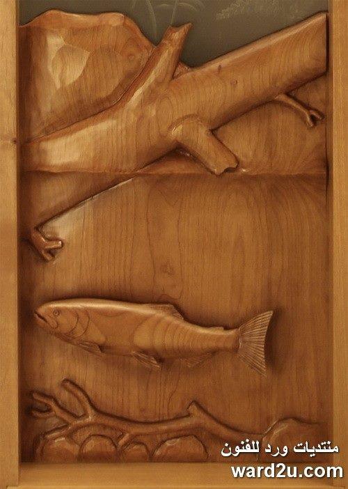 ابواب خشبية تحف فنية