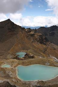 Te Maari and the Emerald Lakes
