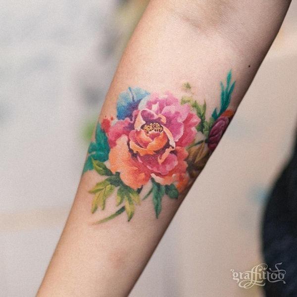 esta_colorida_aquarela_flor_da_tatuagem