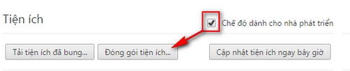 Hướng dẫn tạo file .crx từ Extensions đã cài trong Chrome