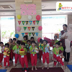 Celebration of Teddy Bear's Birthday Tea- party by Jr KG Section at Witty World Bangur Nagar (2018-2019)