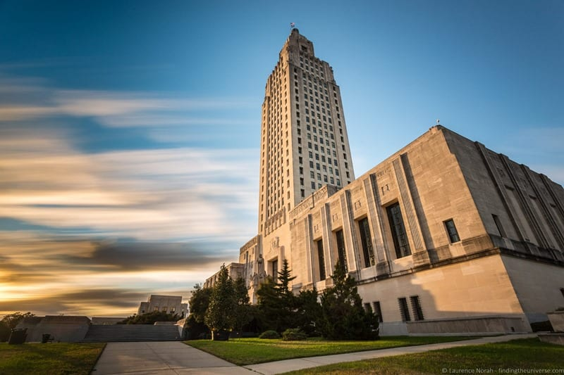 Weekend in Baton Rouge - State Capitol