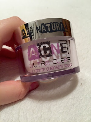 Acne ultra clear cleansing power