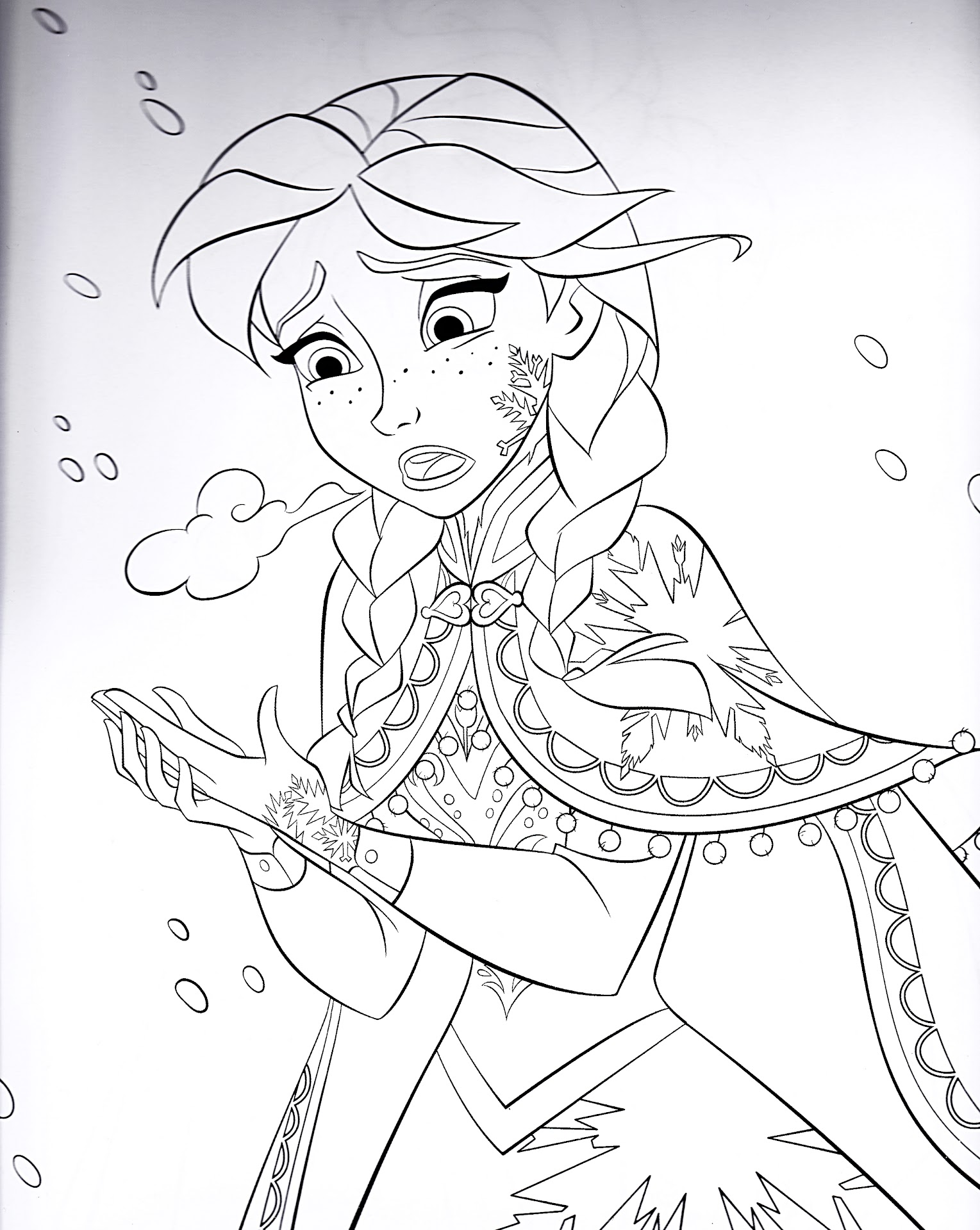 HD Sven Frozen Coloring Pages Free