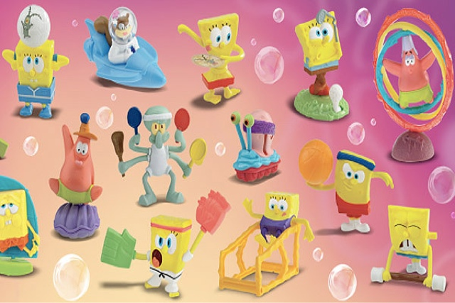 Spongebob x McDonalds Sport series