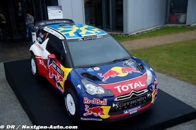 Techo DS3 Rally suecia