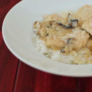 Mushroom Swiss Chicken
