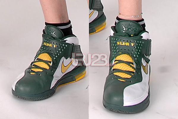 Nike Soldier 5 WNBA Lauren Jackson amp Sue Bird Seattle Storm PEs