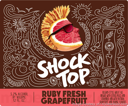 Shock Top Ruby Fresh Grapefruit
