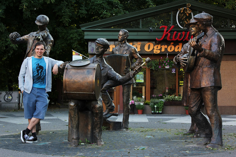 Monumento a la Banda de Músicos Ambulantes de Praga
