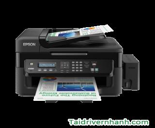 tải và cấu hình phần mềm phần mềm cài đặt máy in Epson L551