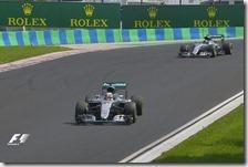 Hamilton vince il gran premio d'Ungheria 2016
