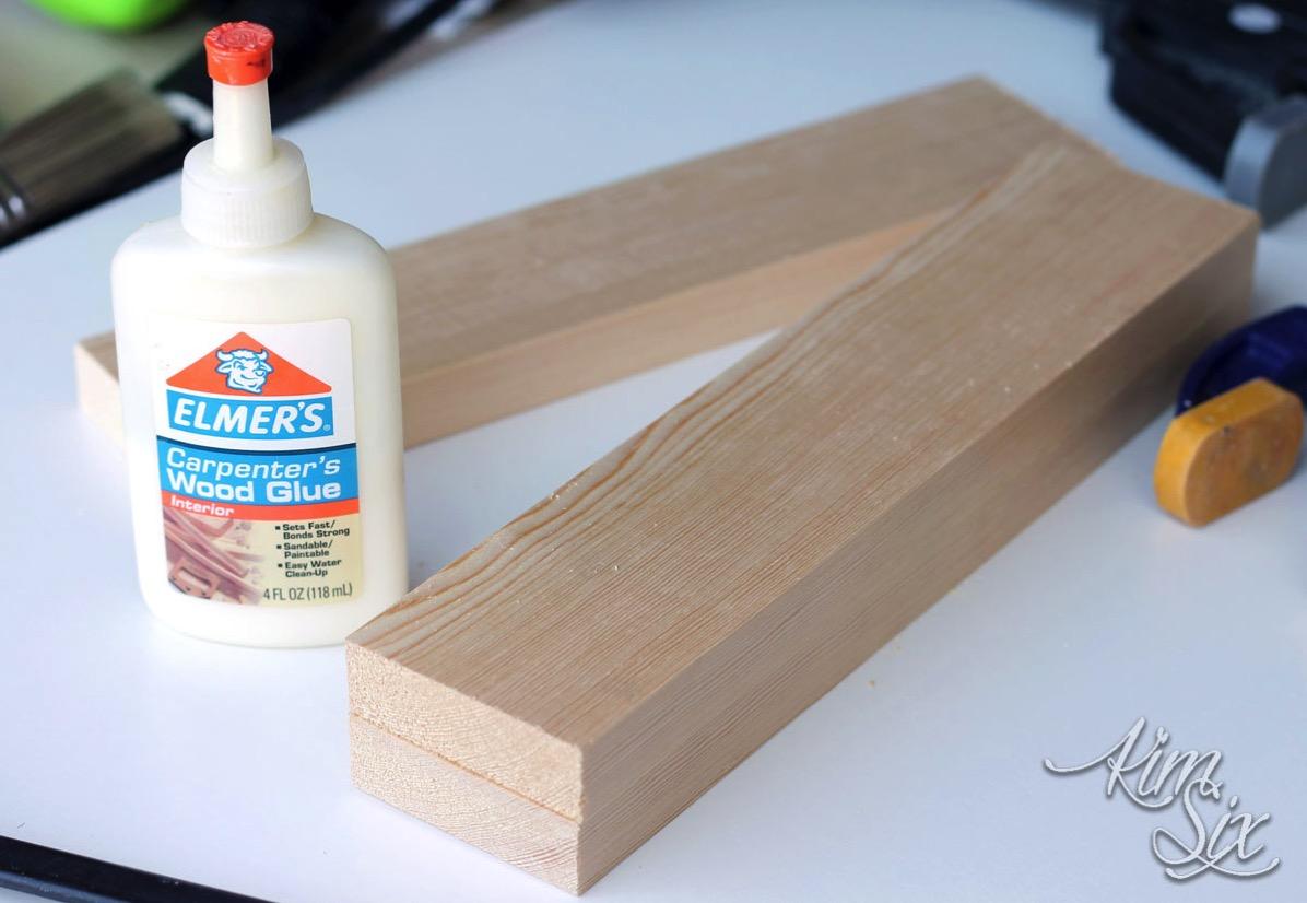 Glueing boards together