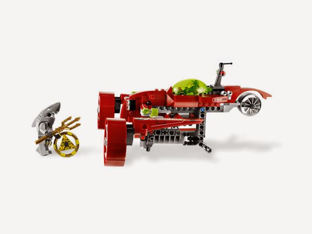 8060 レゴ アトランティス タイフーン・ターボ