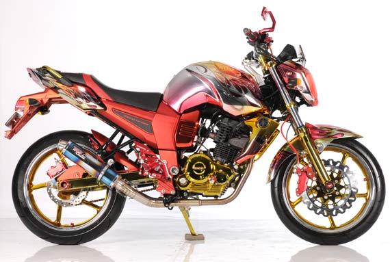 Modifikasi Yamaha Byson