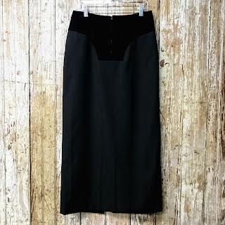 Comme Des Garçons Corset Pencil Skirt