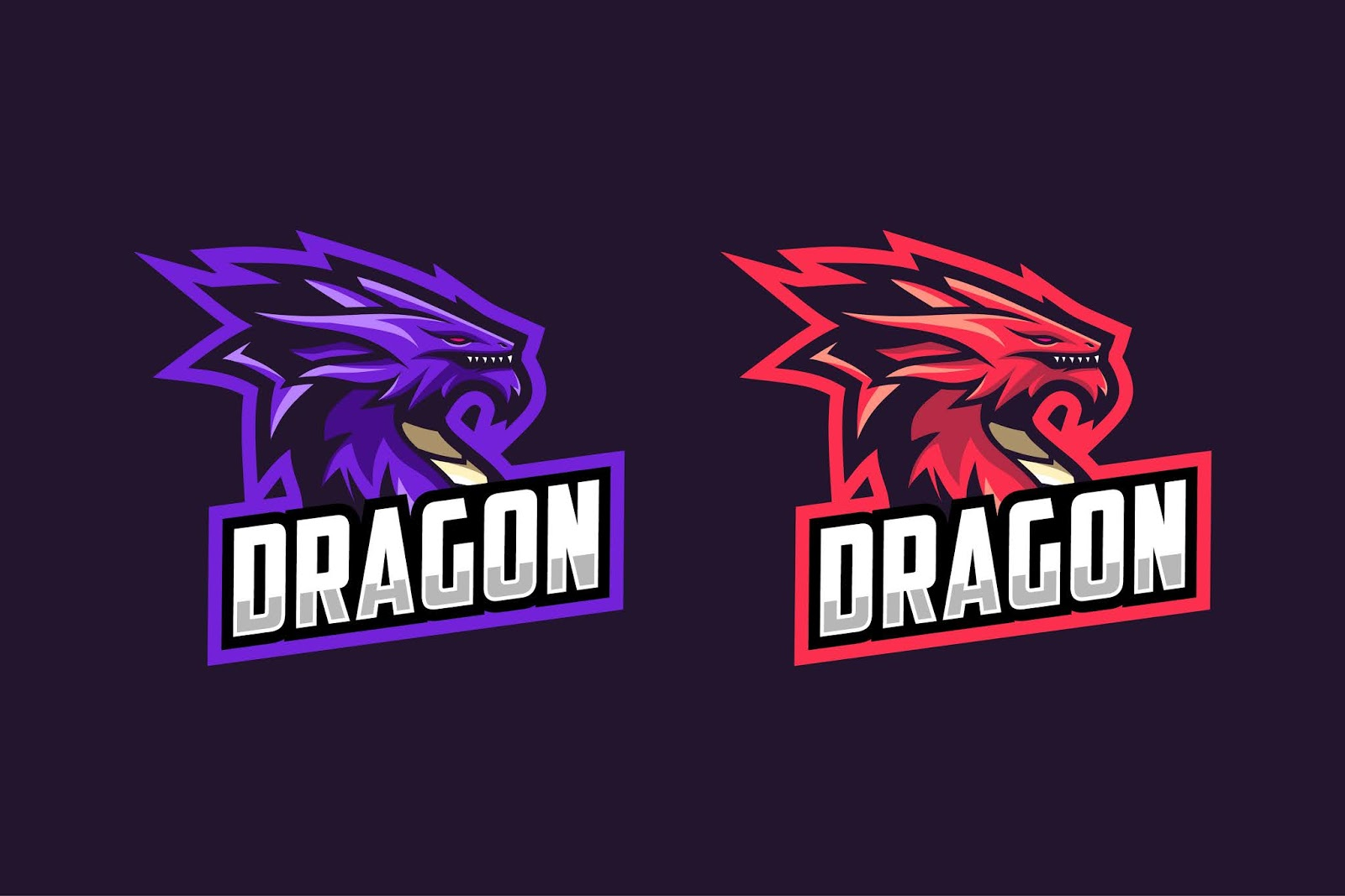 Gamers Mascot Logo Design Free Download Vector CDR, AI, EPS and PNG Formats