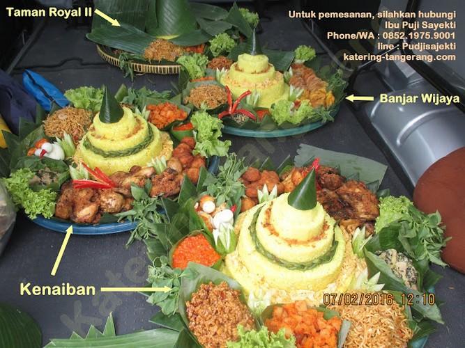 Nasi Tumpeng Taman Royal