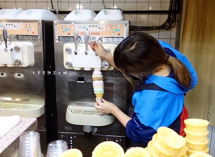 5 東京中野巨無霸八色霜淇淋 彩色霜淇淋 彩虹霜淇淋