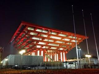 Pavillon Chinois de l'Expo 2010 à Shanghai