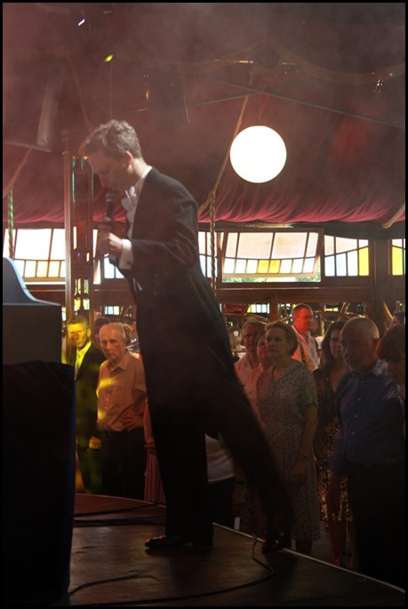 Matthew Blacklock at the Ragroof Tea Dance, Norfolk & Norwich Festival 2016