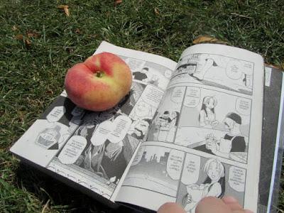 Fullmetal Alchemist and a peach