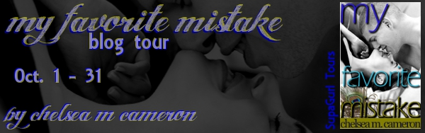 Tour: Fill in the Blank — My Favorite Mistake by Chelsea M. Cameron