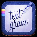 Textgram X - Write on photos icon