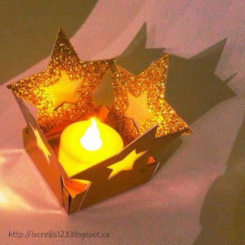 Linda Vich Creates: Candle, Candle, Burning Bright