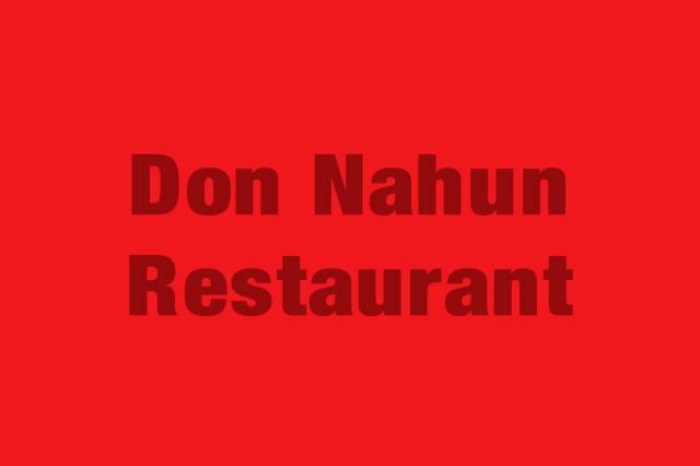 Don Nahun Restaurant es Partner de la Alianza Tarjeta al 10% Efectiva