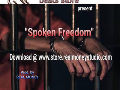 """Download reggae beat """"spoken freedom"""" produced by REAL MONEY.- BPM 97"""