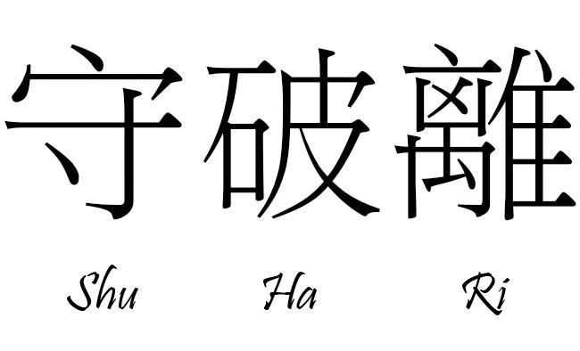 Shu ha ri