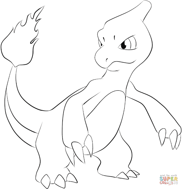 Click The Charmeleon Coloring Pages To View Printable Version Or Color It  Online Patible With Ipad And Android Tablets