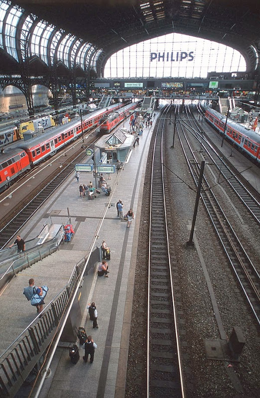 5. Hamburg Hauptbahnhof. Hamburg Central Station
