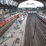 5. Hamburg Hauptbahnhof. Hamburg Central Station