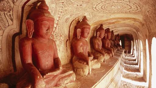 Buddhas, Near Monywa Po Wine Daung Caves, Myanmar.jpg