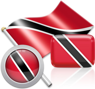 Trinidadian or Tobagonian flag icons pictures collection