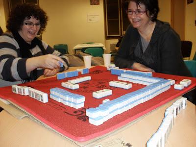 Rencontres Mahjong ensembles