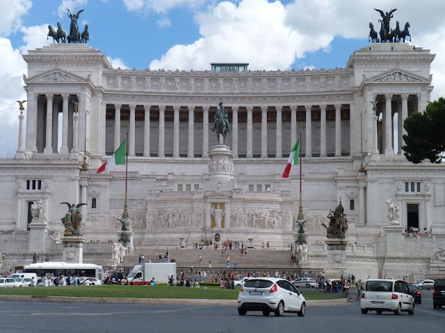 Piazza Vittorio Emanuele II - Roma