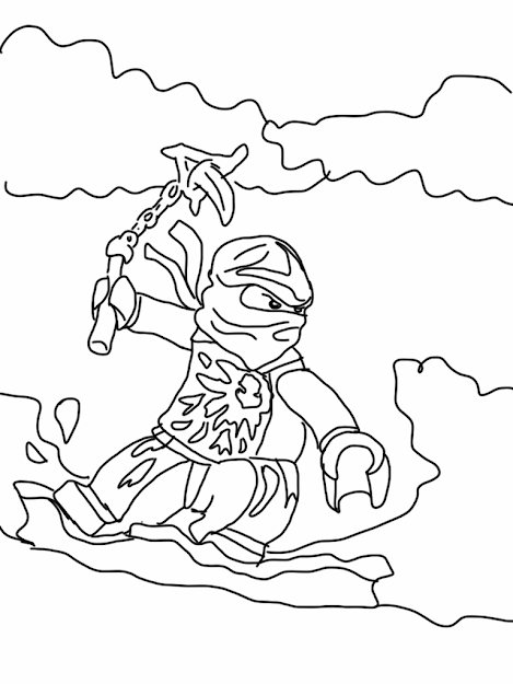 Lego Ninjago Coloring Pages Printable Lego Ninjago Coloring Pages Inside  The Most Amazing Ninjago